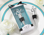 Mr. & Mrs. Chrome Ampersand Bottle Stopper