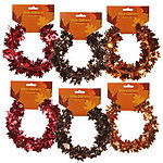 Fall Metallic Wire Garland - 2 Styles - 3 Colors!