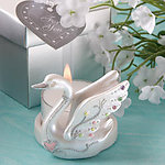 Swan Candle Holder Favor