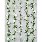 White Flower Garland - 5 Flower Choices!