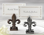 �Fleur-de-Lis� Place Card/Photo Holder (Set of 4)