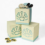 Beach Wedding Favor Boxes - Pkg 12