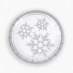 Winter Wedding Dessert Plates - Pkg 25