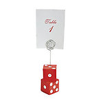 Casino Place Card Holders - Pkg 12