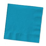 Turquoise Napkins - Beverage or Luncheon Size