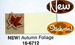 Place Cards with Maple Leaf Stick On - Pkg 12