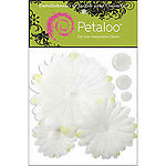 Glittered White Daisy Layers Peel-n-Stick Flowers