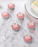 Butterfly Tealights - 3 Colors - Pkg 6