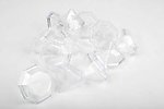 Diamond Shape Plastic Favor Box - Pkg 12