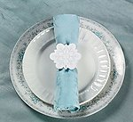 Winter Snowflake Napkin Rings - Pkg 48