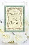 My Beloved My Friend White Rose Blank Wedding Programs - Pkg 100
