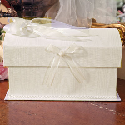 wedding dress money card holder