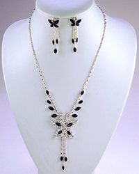 Butterfly Necklace Set - Colors!