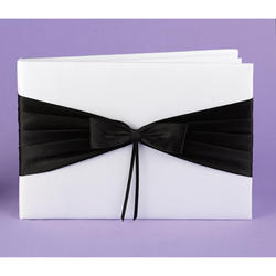 Black Lasting Radiance Guest Book