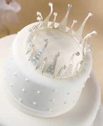 Beautiful Dreamer Tiara Cake Top