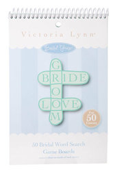Bridal Shower Word Search Game Sheets - Pkg 50
