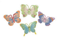 3 Resin Butterfly Magnets
