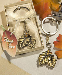 Autumn Inspired Key Chain Favors