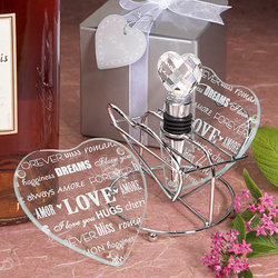 Words of Love Barware Set