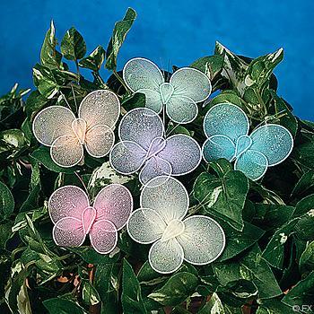 2 1/4 Glitter Butterflies - Pkg 12