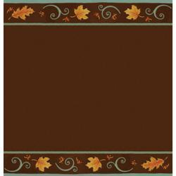 Autumn Scroll Plastic Tablecover
