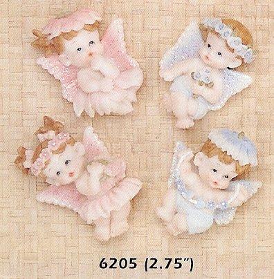 baby girl or boy angel magnet favors