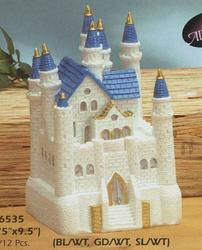 9.5 Resin Square Castle - Colors!