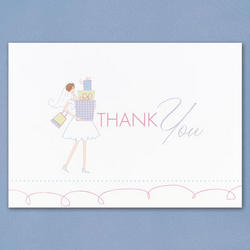 Bridal Gifts Thank You Cards - Pkg 25