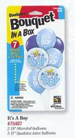 Baby Shower Balloon Bouquet in a Box - 3 Designs!