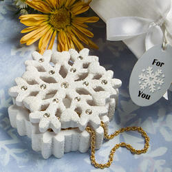 Winter Wonderland Snowflake Design Box