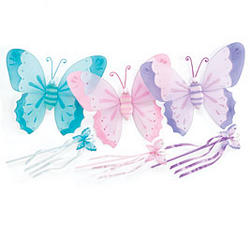 Butterfly Wing & Wand Set - Colors!
