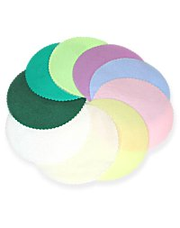 9 Scalloped Tulle Circles - 27 Colors