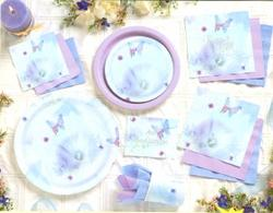 Butterfly Reflection Paper Cups - Pkg 25