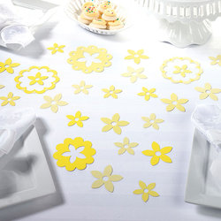 Flower Confetti - 4 Colors - Pkg 96