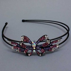 Butterfly & Ribbons Headband - 5 Colors!