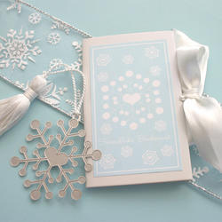 Mark the Date Snowflake Bookmarks