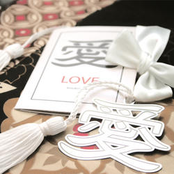 Asian Love Bookmark