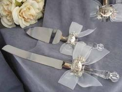 Cinderella Fairy Tale Coach Wedding Cake Server Set