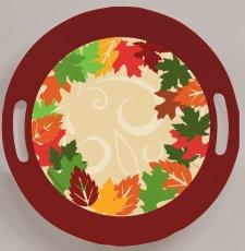 Autumn Leaves Plastic Tray - 3 Sizes!