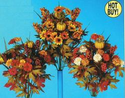 20 Fall Floral / Decor Bush