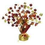 Fall Leaves Gleam N Burst Centerpiece