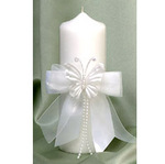 Butterfly Pillar Unity Candle - 2 Colors!
