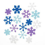 Foamies Self Stick Snowflakes - 40 grams