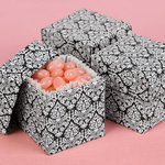 Mix-and-Match Damask Favor Boxes