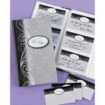 Damask Book of Wedding Wishes Set