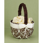 Mocha Enchanted Evening Flower Basket
