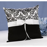 Black Enchanted Evening Ring Pillow