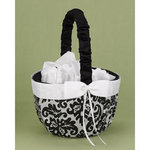 Black Enchanted Evening Flower Basket