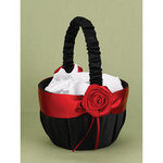 Midnight Rose Basket