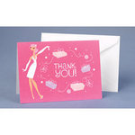 Sophisticated Bride Thank You - Pkg 25